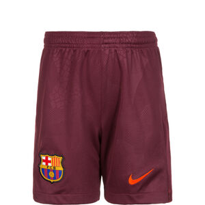 FC Barcelona Short 3rd Stadium 2017/2018 Kinder, Rot, zoom bei OUTFITTER Online