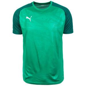Cup Trainingsshirt Herren, grün / dunkelgrün, zoom bei OUTFITTER Online
