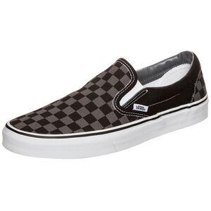 Classic Slip-On Checkerboard Sneaker, Schwarz, zoom bei OUTFITTER Online