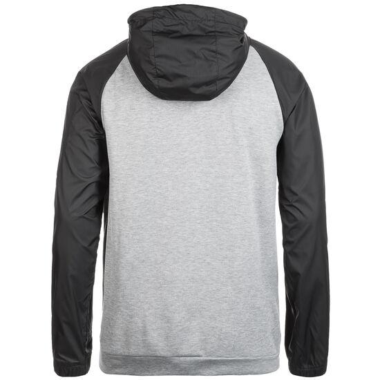 Dry Trainingskapuzenjacke Herren, grau / schwarz, zoom bei OUTFITTER Online