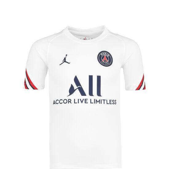 Paris St.-Germain Strike Home Trainingsshirt Kinder, weiß / dunkelblau, zoom bei OUTFITTER Online