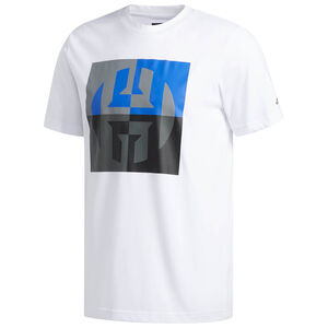 Harden Logo T-Shirt Herren, weiß / bunt, zoom bei OUTFITTER Online