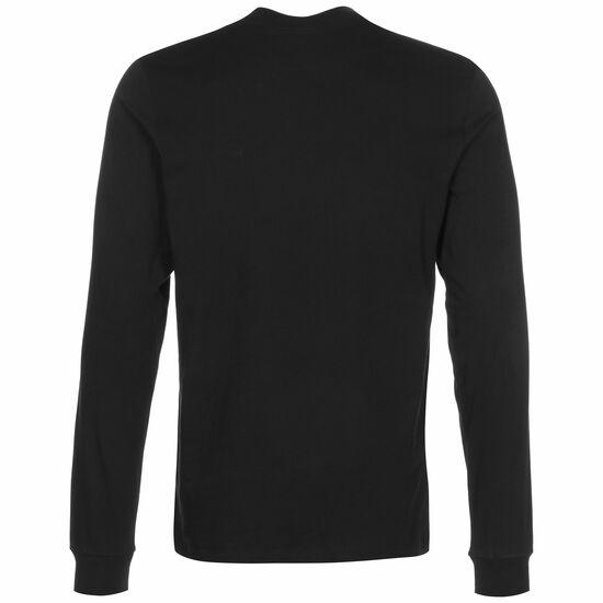 Club Longsleeve Herren, schwarz / weiß, zoom bei OUTFITTER Online