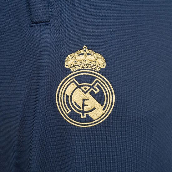 Real Madrid Icons Traininghose Herren, blau / gold, zoom bei OUTFITTER Online