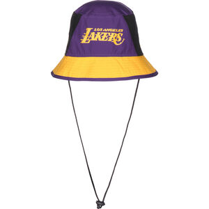 NBA Team Los Angeles Lakers Hut, lila / gelb, zoom bei OUTFITTER Online