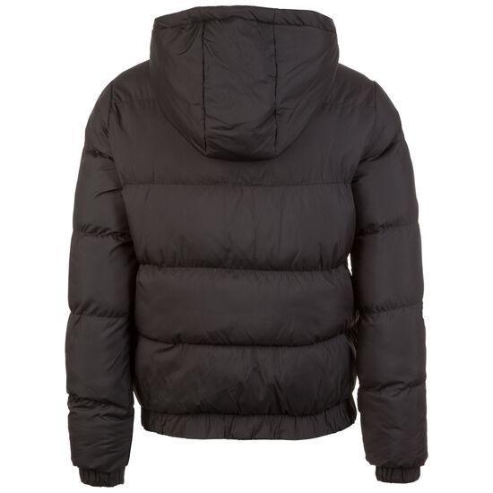 Hooded Puffer Daunenjacke Damen, schwarz, zoom bei OUTFITTER Online