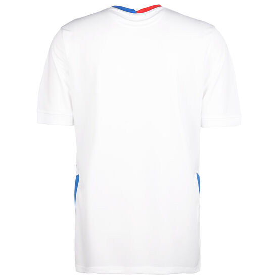 Slowakei Trikot Away Stadium EM 2021 Herren, weiß / blau, zoom bei OUTFITTER Online