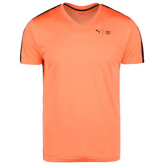 x First Mile SS Trainingsshirt Herren, neonorange, zoom bei OUTFITTER Online