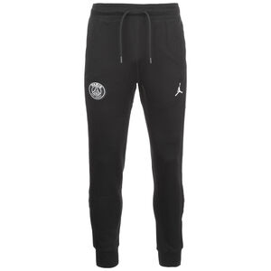 Paris St-Germain Jordan Fleece Trainingshose Herren, schwarz / weiß, zoom bei OUTFITTER Online