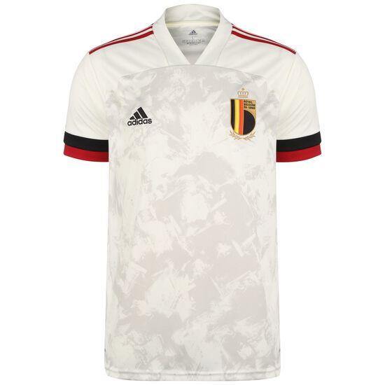 Belgien Trikot Away EM 2021 Herren, beige / rot, zoom bei OUTFITTER Online