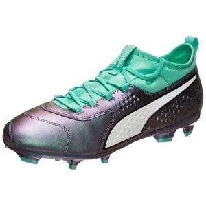 Puma ONE 3 Illuminate FG Fußballschuh Herren, Grün, zoom bei OUTFITTER Online