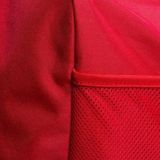 Tiro Duffel Large Fußballtasche, rot / weiß, zoom bei OUTFITTER Online