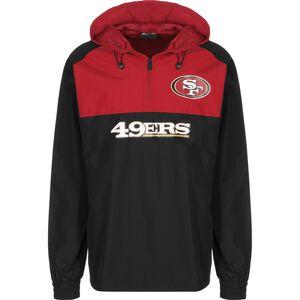 NFL San Francisco 49ers Windbreaker Herren, schwarz / rot, zoom bei OUTFITTER Online