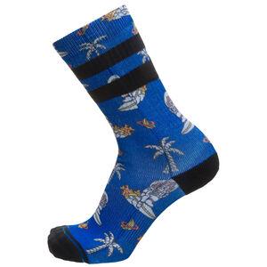 Space Monkey Socken Herren, blau / weiß, zoom bei OUTFITTER Online
