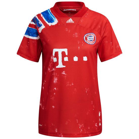 FC Bayern München Human Race FC Trikot Damen, rot / blau, zoom bei OUTFITTER Online