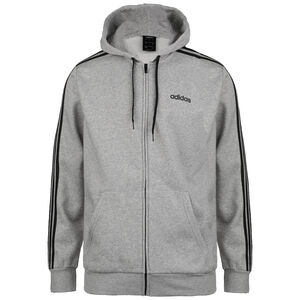 Essentials 3-Stripes Trainingsjacke Herren, grau / schwarz, zoom bei OUTFITTER Online