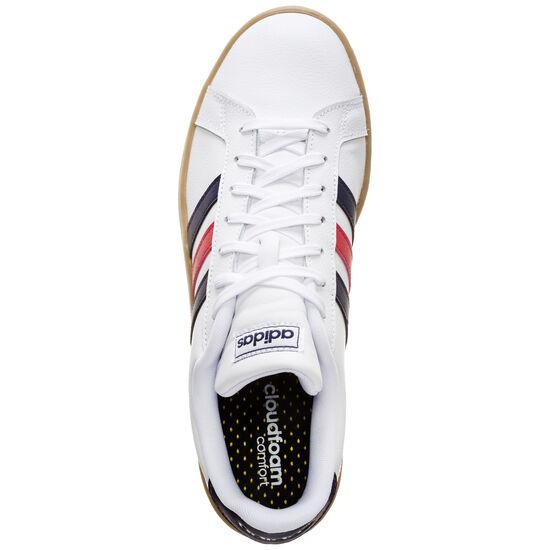 Grand Court Sneaker Herren, weiß / blau, zoom bei OUTFITTER Online
