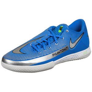 React Phantom GT Pro Indoor Fußballschuh Herren, blau / silber, zoom bei OUTFITTER Online