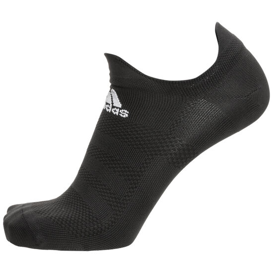 Alphaskin Ultralight No-Show Socken, schwarz, zoom bei OUTFITTER Online