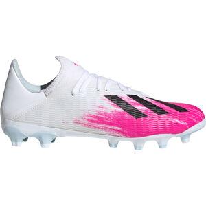 X 19.3 MG Fußballschuh Herren, weiß / pink, zoom bei OUTFITTER Online