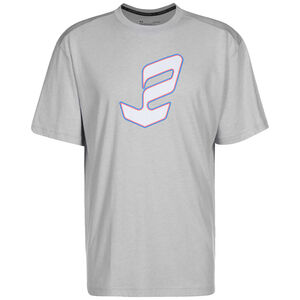 Embiid Logo Trainingsshirt Herren, hellgrau / weiß, zoom bei OUTFITTER Online