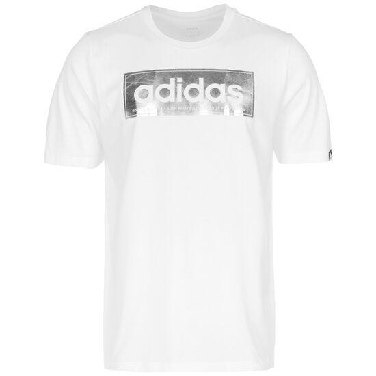 Color Shift Logo T-Shirt Herren, weiß, zoom bei OUTFITTER Online