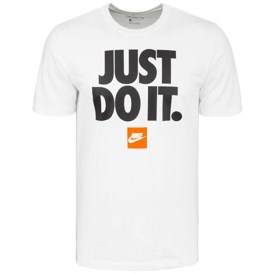Just Do It T-Shirt Herren, weiß / schwarz, zoom bei OUTFITTER Online