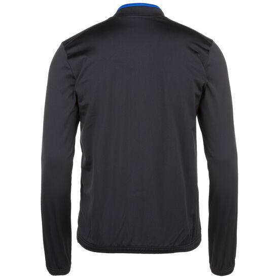 FC Schalke 04 Knit Trainingsjacke Herren, schwarz / blau, zoom bei OUTFITTER Online