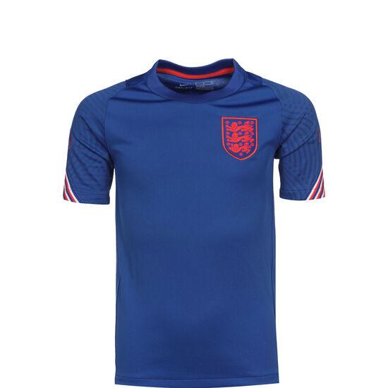 England Breathe Strike Trainingsshirt EM 2021 Kinder, blau / rot, zoom bei OUTFITTER Online