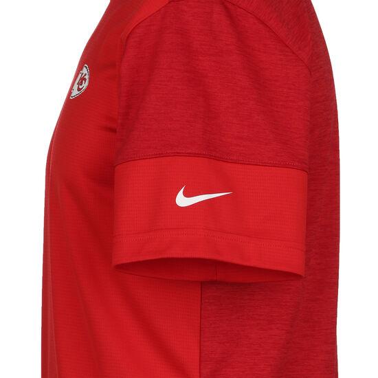 NFL Coach UV Kansas City Chiefs T-Shirt Herren, rot / weiß, zoom bei OUTFITTER Online