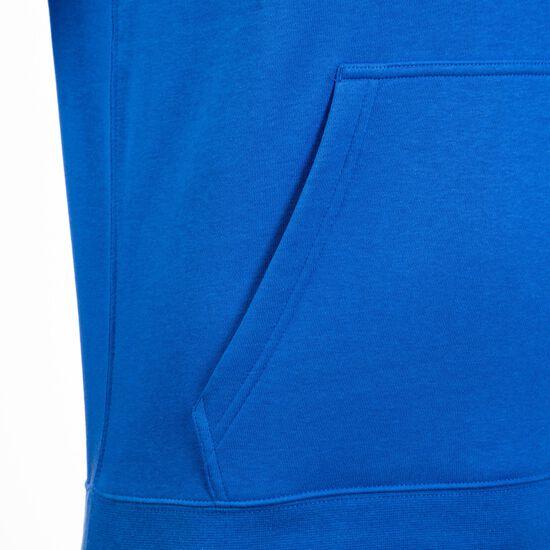 Club19 Fleece TM Kapuzenpullover Herren, blau / weiß, zoom bei OUTFITTER Online