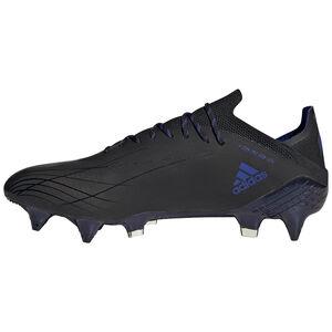 X Speedflow.1 SG Fußballschuh Herren, schwarz / blau, zoom bei OUTFITTER Online