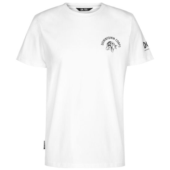 Downtown Corps T-Shirt Herren, weiß / schwarz, zoom bei OUTFITTER Online