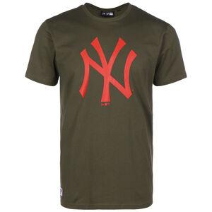 MLB New York Yankees Seasonal Team Logo T-Shirt Herren, oliv / rot, zoom bei OUTFITTER Online