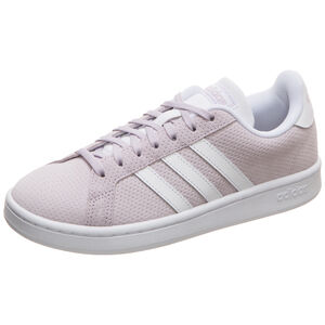 Grand Court Sneaker Damen, violett / weiß, zoom bei OUTFITTER Online