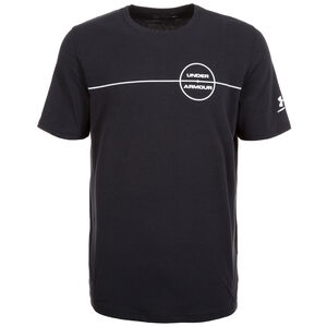 HeatGear Center Circle T-Shirt Herren, Schwarz, zoom bei OUTFITTER Online