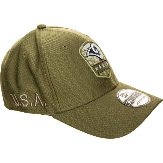 39Thirty NFL Salute to Service Los Angeles Rams Cap, grün, zoom bei OUTFITTER Online