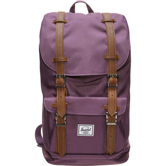 Little America Mid-Volume Rucksack, lila, zoom bei OUTFITTER Online