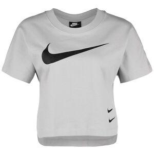 Swoosh Cropped T-Shirt Damen, flieder / silber, zoom bei OUTFITTER Online