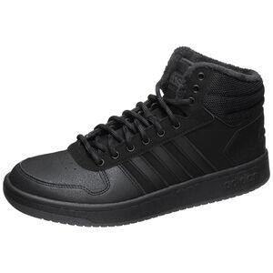 Hoops Mid 2.0 Sneaker Herren, schwarz / anthrazit, zoom bei OUTFITTER Online