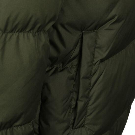 DMWU Puffer Winterjacke Herren, grün / schwarz, zoom bei OUTFITTER Online
