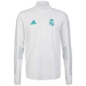 Real Madrid Trainingsshirt Herren, weiß / grau, zoom bei OUTFITTER Online
