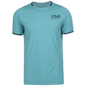 HeatGear Isochill Perforated Trainingsshirt Herren, blau / türkis, zoom bei OUTFITTER Online