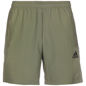 Aeroready Designed To Move Woven Trainingsshorts Herren, oliv, zoom bei OUTFITTER Online