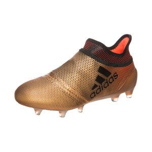 X 17+ Purespeed FG Fußballschuh Kinder, Gold, zoom bei OUTFITTER Online
