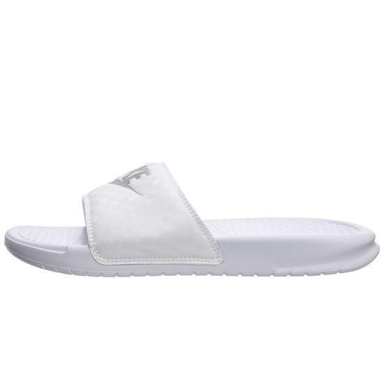 Benassi Just Do It Badesandale Damen, Weiß, zoom bei OUTFITTER Online