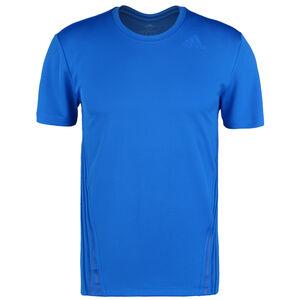 AEROREADY 3-Streifen Trainingsshirt Herren, blau, zoom bei OUTFITTER Online