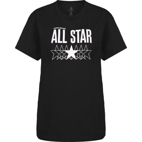 CTAS Relaxed Graphic T-Shirt Damen, schwarz / lila, zoom bei OUTFITTER Online