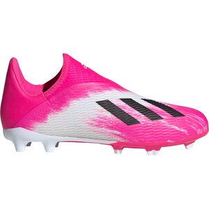 X 19.3 LL FG Fußballschuh Kinder, pink / weiß, zoom bei OUTFITTER Online