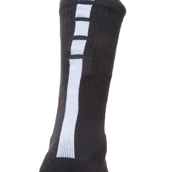 Elite NBA Crew Socken, schwarz / weiß, zoom bei OUTFITTER Online